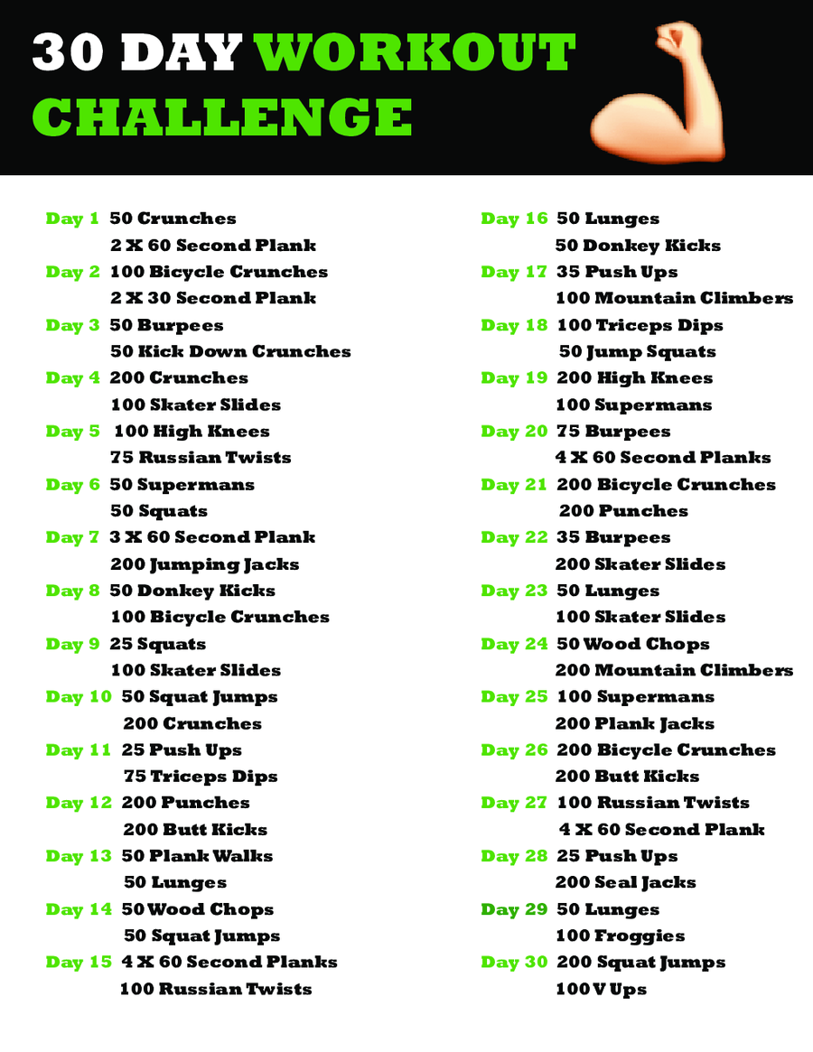 Ripped in 30 workout schedule www galleryhip com the hippest pics
