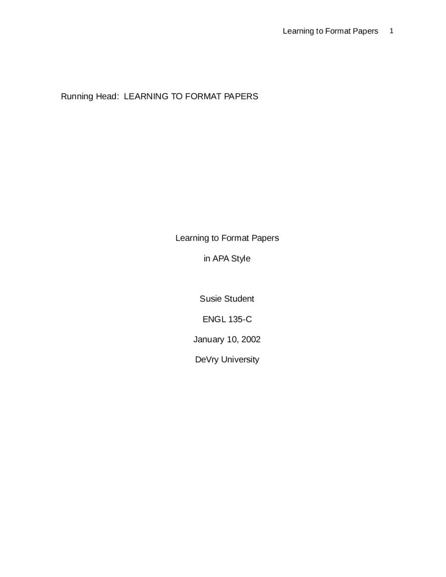 research paper cover
