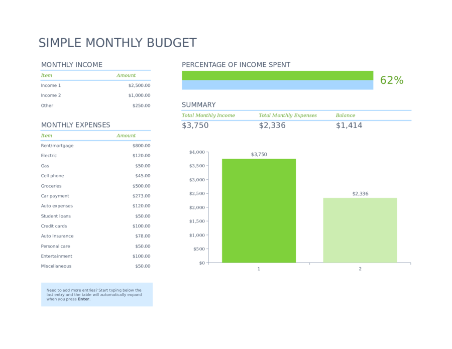 monthly budget template 03