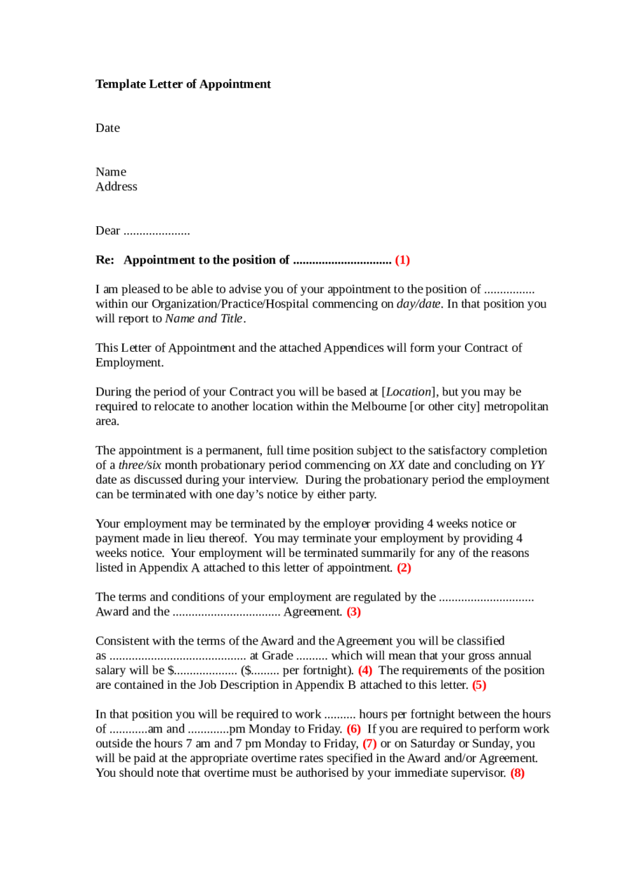 Proof of Employment Letter Example 03
