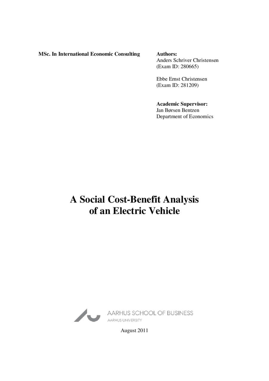 Social Cost Benefit Analysis 04