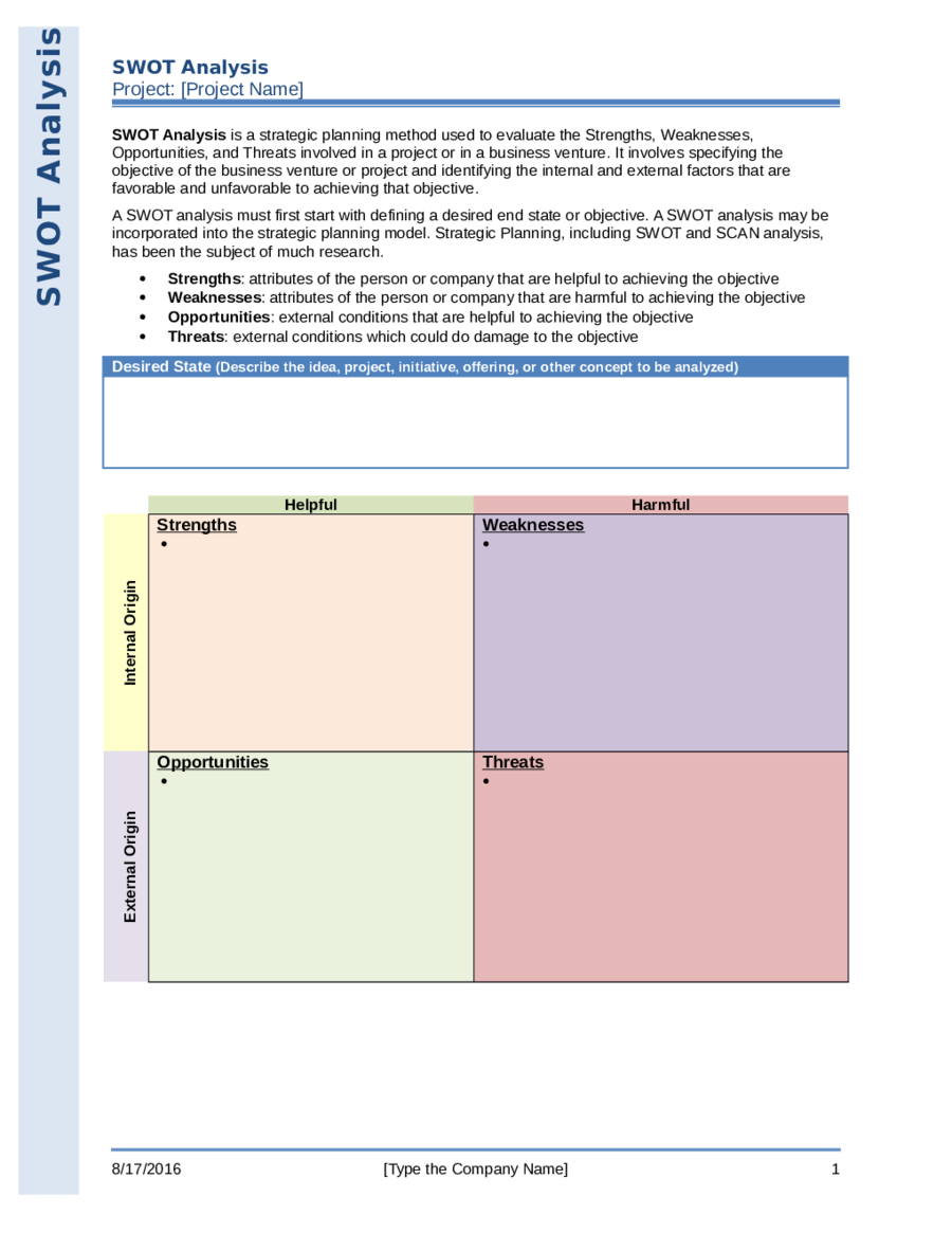 swot analysis template swot analysis definition and example swot analysis formats 02
