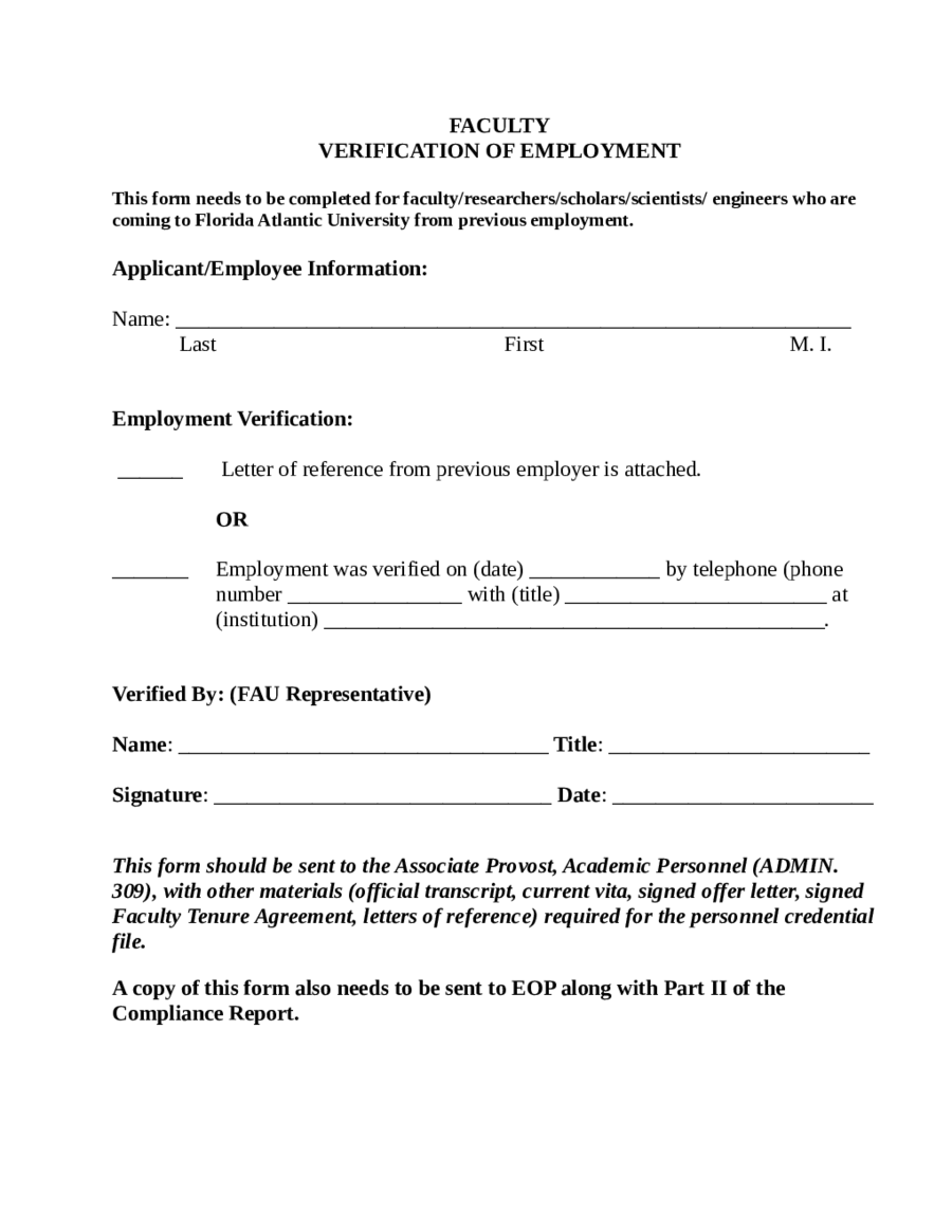 Rent Verification Letter Template Examples